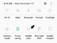 Cara menghidupkan sinyal paket data di android