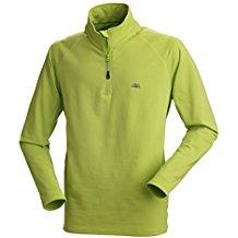 Nordcap Herrenfunktionsshirt, schnelltrocknendes Langarm-Shirt in Hellgrün, für Sport & Outdoor-Aktivitäten, Herren-Thermoshirt (Größe: M - 3XL)