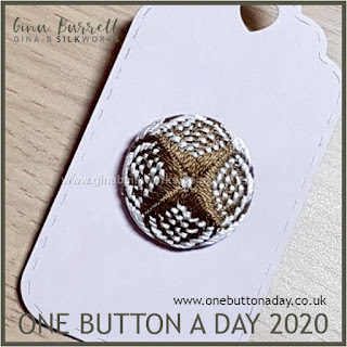 Day 211 : Hurst Cross - One Button a day 2020 by Gina Barrett
