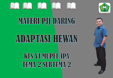 Materi IPA Kelas VI Tema 2 Subtema 2 - Adaptasi Hewan