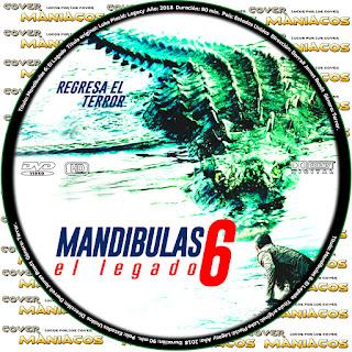 GALLETAMANDIBULAS 6: EL LEGADO - LAKE PLACID: LEGACY - 2018