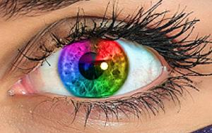 Cara mengubah warna mata