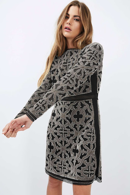 topshop velvet dress, velvet patterned dress,