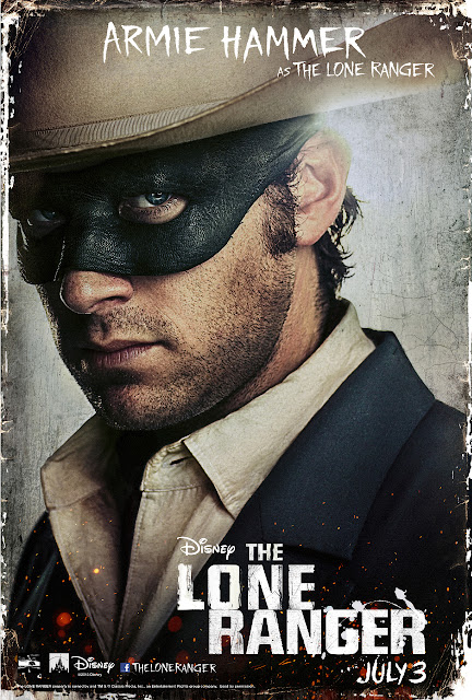 Armie Hammer, still best remembered as the Winkelvos Twins in the Social Network, is the Lone Ranger.