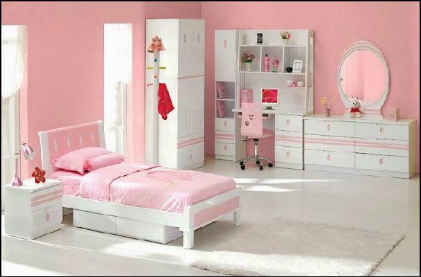 10 dormitorios color rosa para ni a dormitorios colores - Habitacion nina rosa y blanca ...