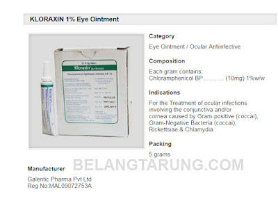 Kloraxin Description Eye Ointment For Cats and Dogs