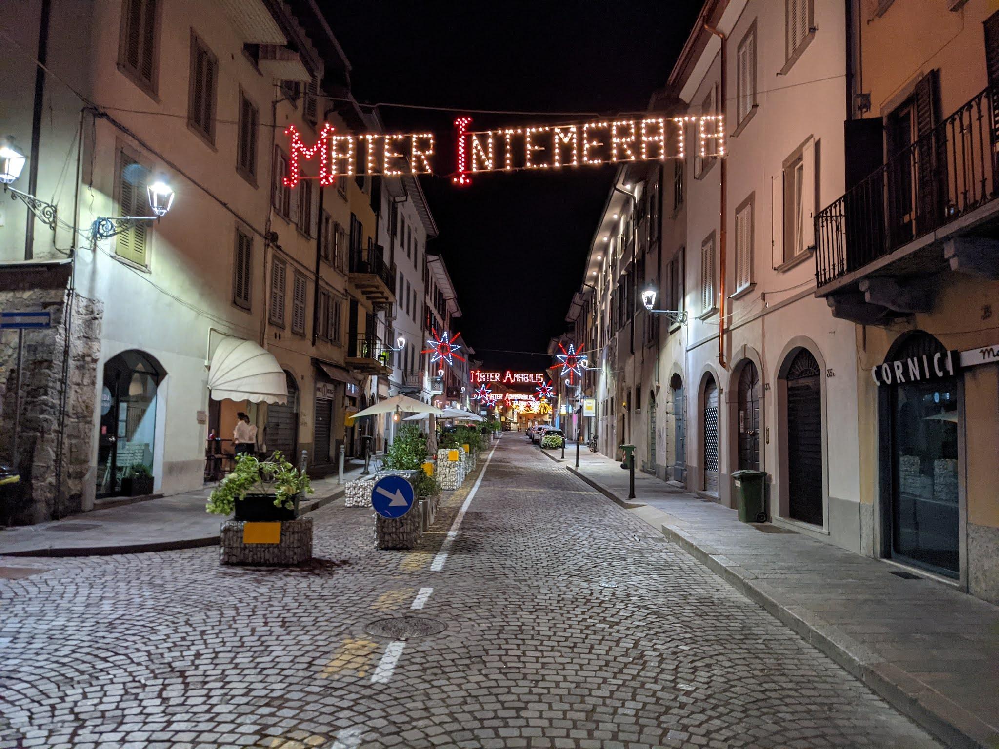 Santa Caterina Bergamo - Festa dell'Apparizione - Mater Intemerata
