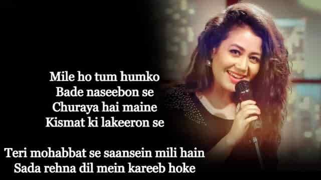 Mile Ho Tum Humko Lyrics In English
