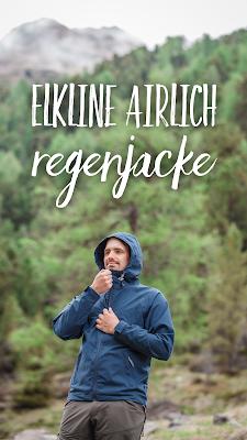 Gear of the Week #GOTW KW 23 | Elkline Airlich Herren Regenjacke | wasser- und winddichte Jacke für outdoor und urban.