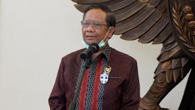 Bukan Ditolak, Mahfud MD: Pemerintah Putuskan Tunda Sementara Pembahasan RUU HIP
