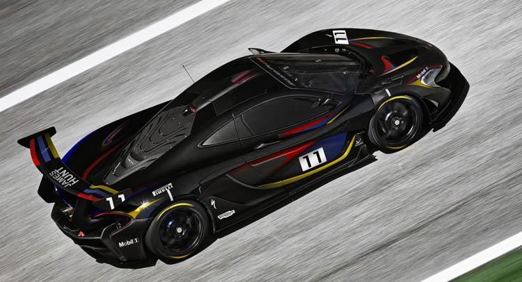 McLaren To Showcase Street-Legal P1 GTR At Goodwood