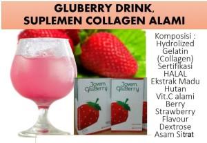 Harga, Manfaat dan Kadungan Gluberry 4Jovem I Jovem Gluberry Collagen Drink