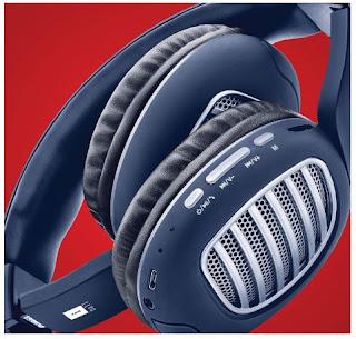 iball Decibel BT01 Smart Headphone with Alexa Enabled