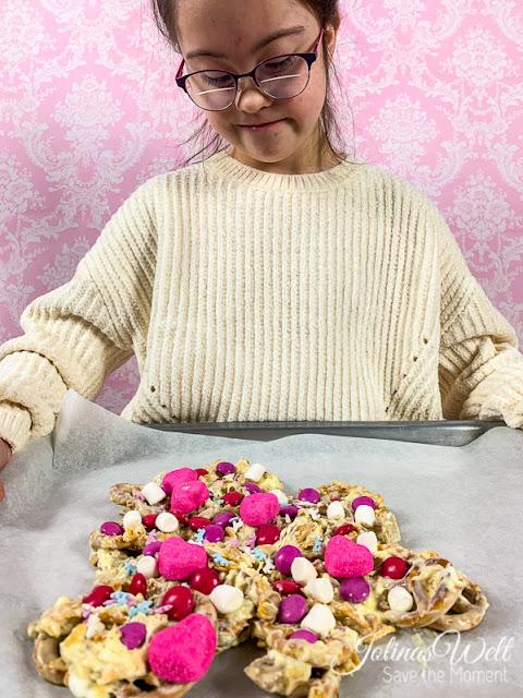 Geschenk zu Valentinstag, Muttertag - Candy Crunch