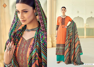 Tanishk fashion Kashmiri vol 4 Lawn Cotton Suits facebook, twitter, amazon, flipcart