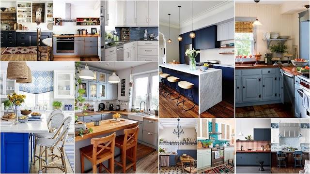 Κουζίνες σε Μπλε αποχρώσεις