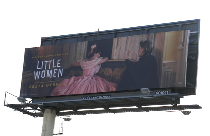 Little Women film FYC billboard