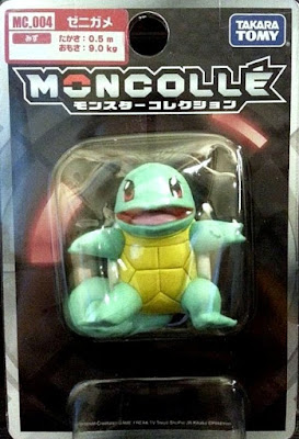 Squirtle figure Takara Tomy Monster Collection MONCOLLE MC series