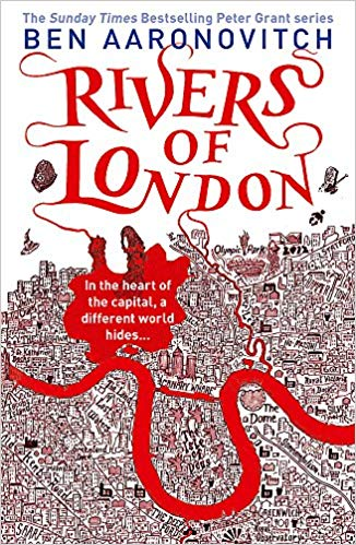 Book cover for Ben Aaronovitch's Rivers of London in the South Manchester, Chorlton, and Didsbury book group