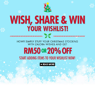 zalora - CONTEST - Win RM50 for your wishlist