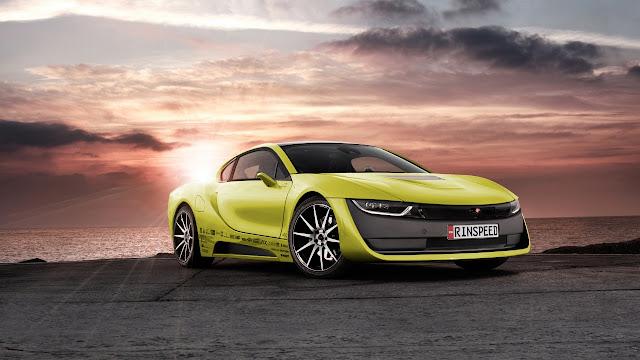 Rinspeed Etos BMW i8 Concept