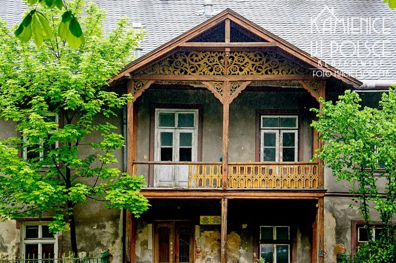 Bochnia: drewniane zwieńczenie domu