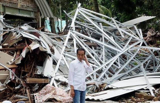 Banjir Kalsel Mudah Teratasi Jika Jokowi Jadi Sekjen PBB