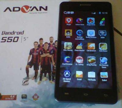 Cara Flash Advan S50K Via Flashtool Sukses 100% - LayarKomputer Com
