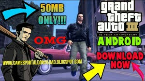 gta 3 lite apk obb 50MB highly compressed