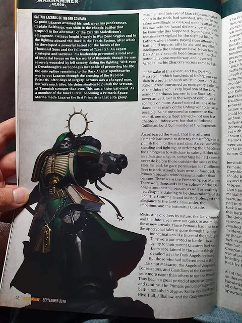 Dark Angels leaks
