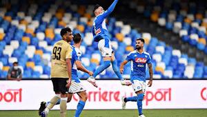 Prediksi Skor Napoli Vs SPAL 29 Juni 2020