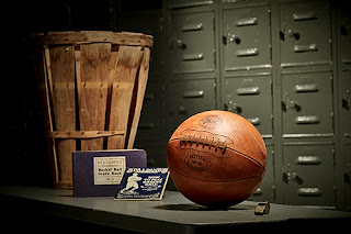 Balón Baloncesto Antiguo