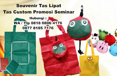 Buat Souvenir Tas Lipat | Tas Custom Promosi Seminar