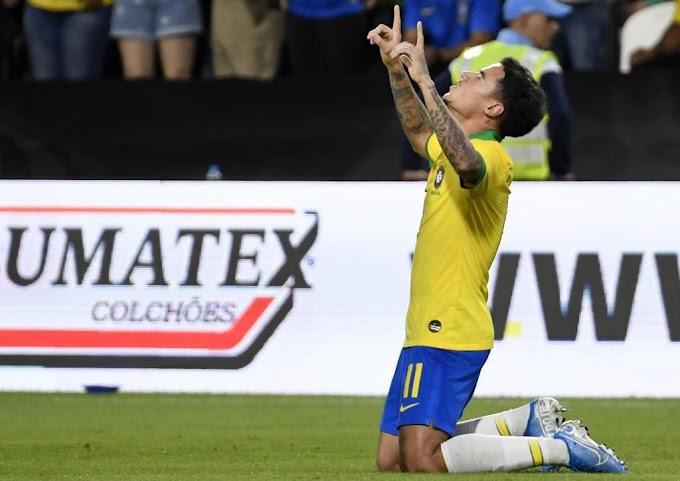 Brasil vence en amistoso a Corea del Sur: 3-0