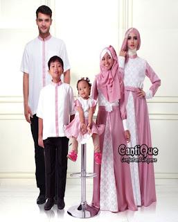 baju couple keluarga untuk lebaran warna putih
