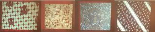 Contoh motif kawung, huk, semen, dan slobok
