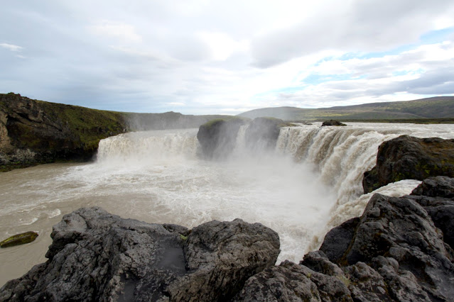 Cascata Godafoss-Islanda