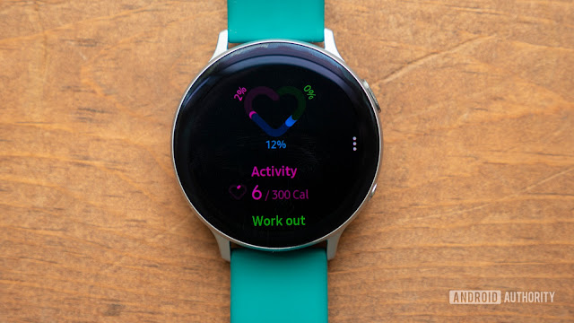Samsung Galaxy Watch Active 2 - Best for Fitness Accountability