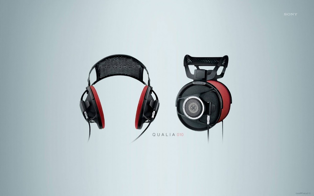 Amazing Headphone Widescreen HD Wallpaper