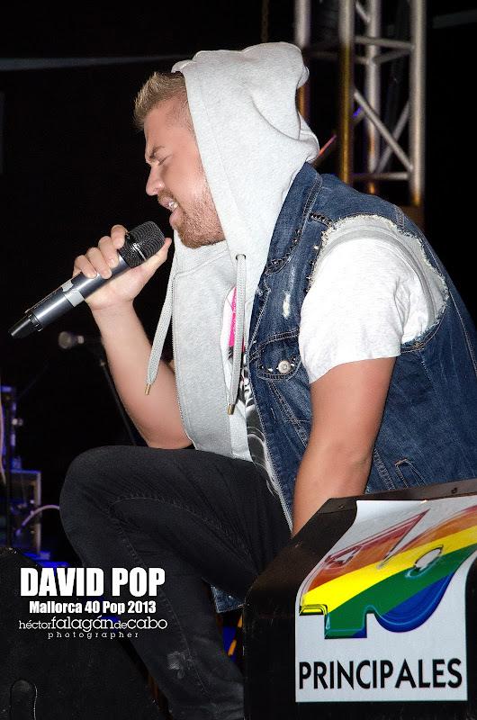 David Pop en el Mallorca 40 Pop 2013. Héctor Falagán De Cabo | hfilms & photography.