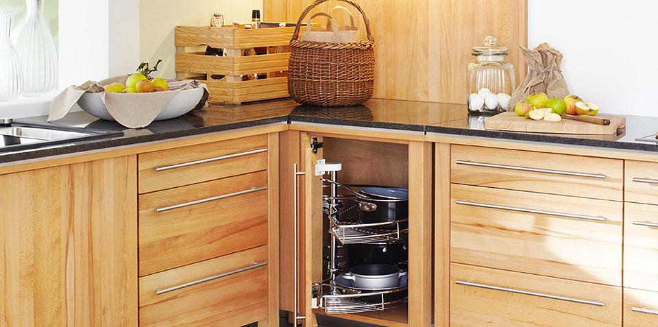 Cocinas de madera maciza todava existen  Cocinas con estilo