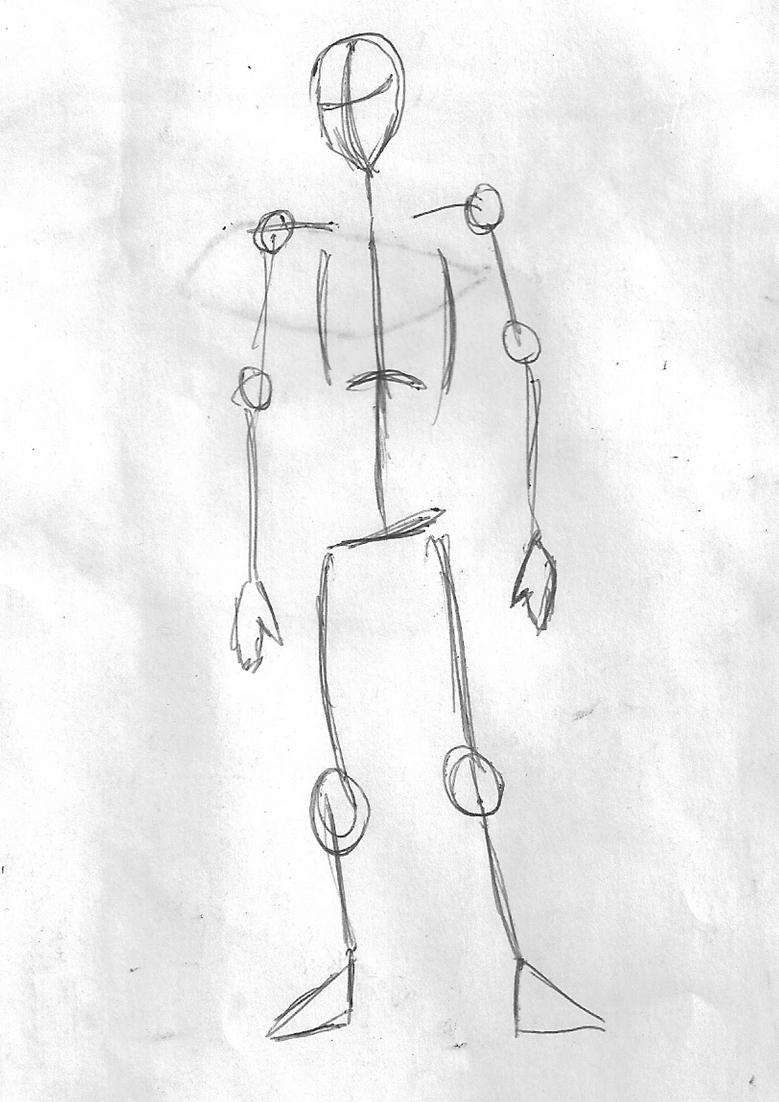Um Lapis Um Mundo Aprenda A Desenhar O Corpo Humano