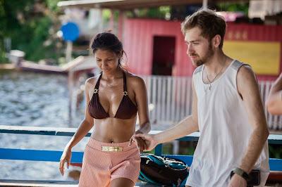 Paul Staehle desembarca no Brasil para conhecer Karine Martins. Divulgação: Discovery TLC