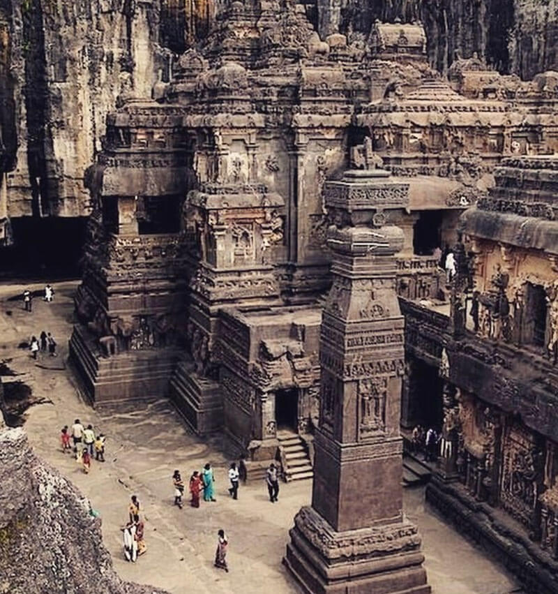 32 Stunning Places on Earth You Should Visit Before You Die - Ellora Caves, India