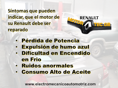 Reparacion de Motor Motortec GB Renault