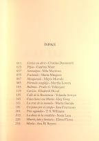 Títulos de relatos y autoras