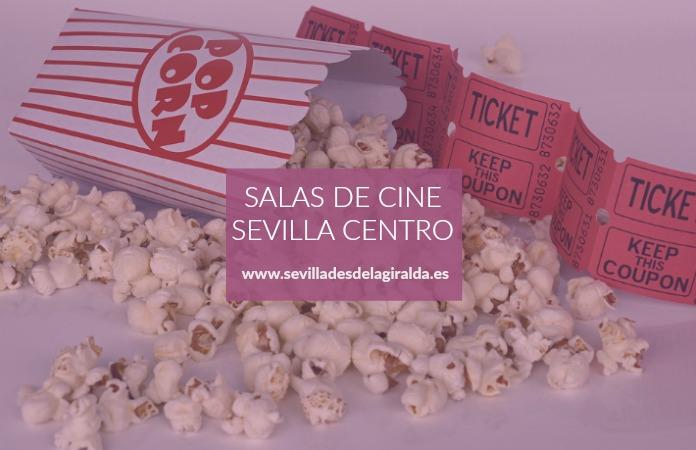 Cines Avenida Cinco, La Alameda, Cervantes y Plaza de Armas en Sevilla centro.