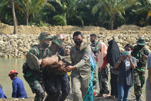 Latihan Penanggulangan Bencana Alam Korem 142 Tatag Memasuki Hari ke Tiga