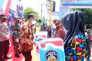 Peluncuran Tagline Aku Sahabat Rakyat di Monumen Cinta Ainun Habibie Dihadiri Bupati Barru