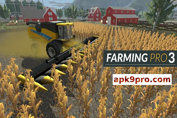 Farming PRO 3 1.0 Apk + Mod + Data (File size 366 MB) for android